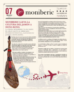 Moniberic lleva la cultura del jamón a Hong Kong